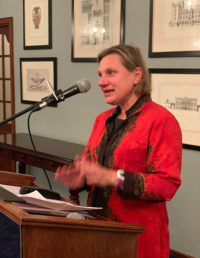 Pippa Green at the Cape Town Press Club